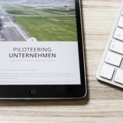 Piloteering.com auf dem iPad